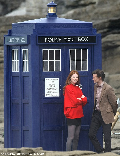TARDIS, Companion, and The Doctor