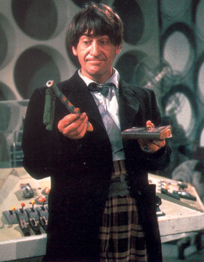 Patrick Troughton as the Second Doctor