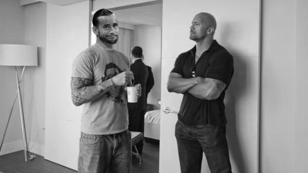 Punk and Dwayne